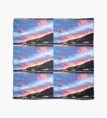 Sky Fire Sunset. Photo Art, Prints, Gifts, and Apparel. Scarf