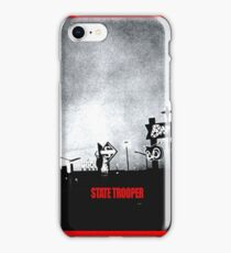 State Trooper Nebraska iPhone Case/Skin