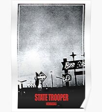State Trooper Nebraska Poster