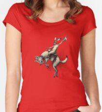 Varmint Rodeo Women's Fitted Scoop T-Shirt