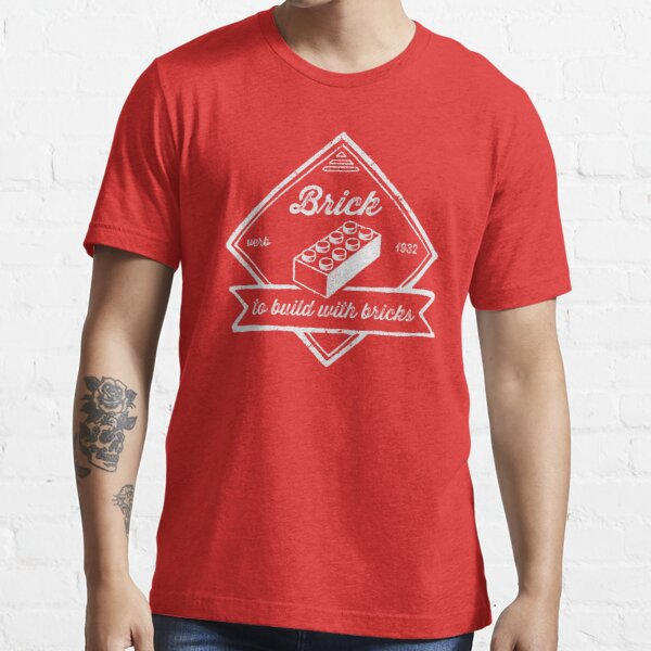 BRICK [verb] - to build with bricks Essential T-Shirt
