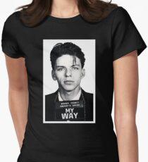 Mugshot My Way Women's Fitted T-Shirt