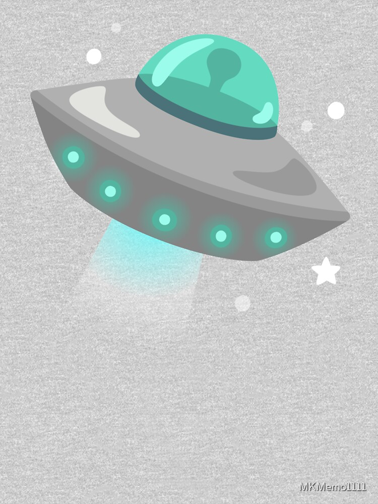 UFO Flying Saucer  by MKMemo1111