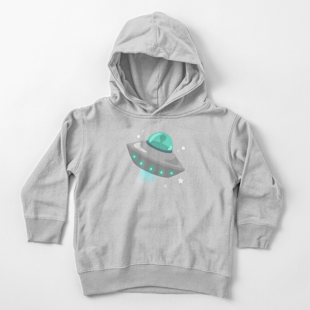 UFO Flying Saucer  Toddler Pullover Hoodie