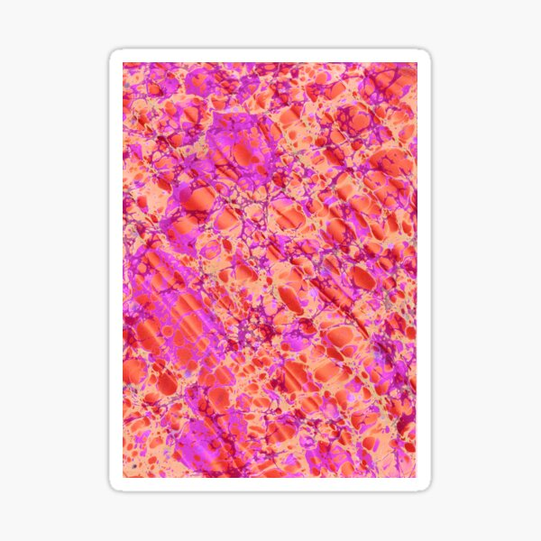 Tropical Marble Sticker