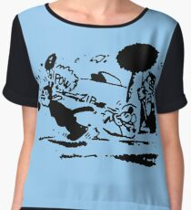 Pulp Fiction Tshirt Chiffon Top