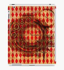 Steampunk Red Harlequin iPad Case/Skin