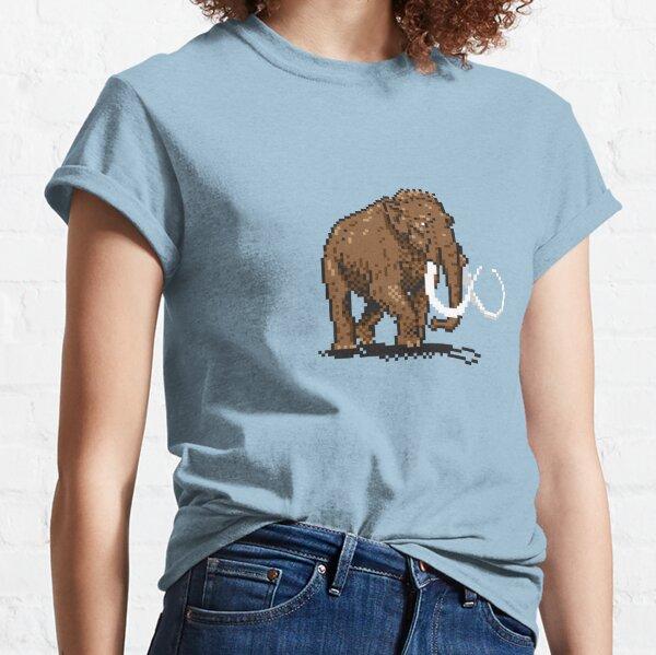 Prehistoric Pixels - Mammoth Classic T-Shirt