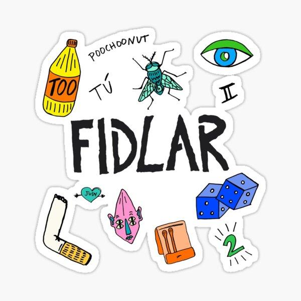 fidlar Sticker