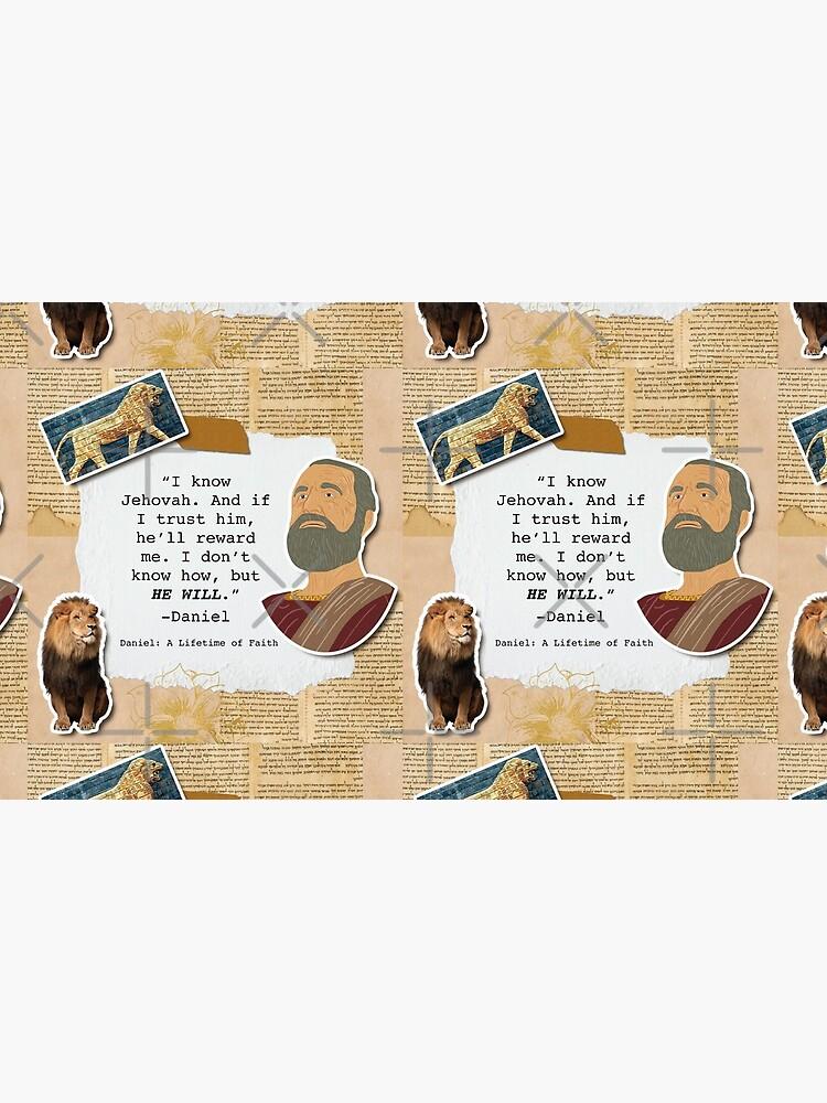 Daniel: A Lifetime of Faith by JenielsonDesign