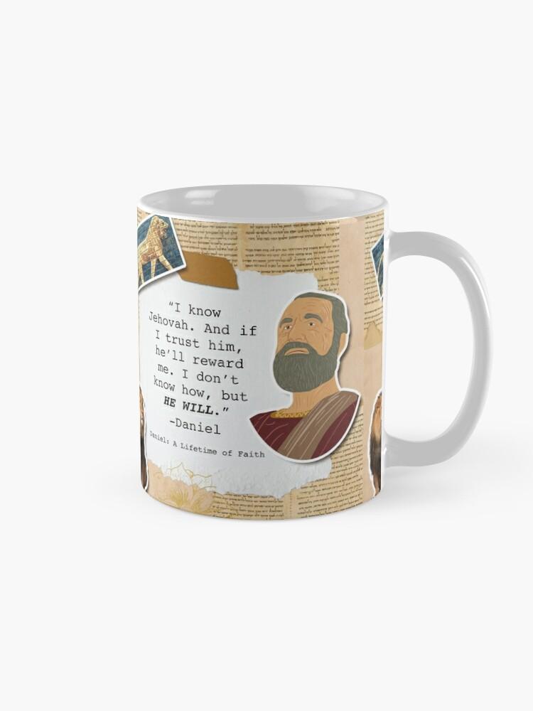 Alternate view of Daniel: A Lifetime of Faith Mug