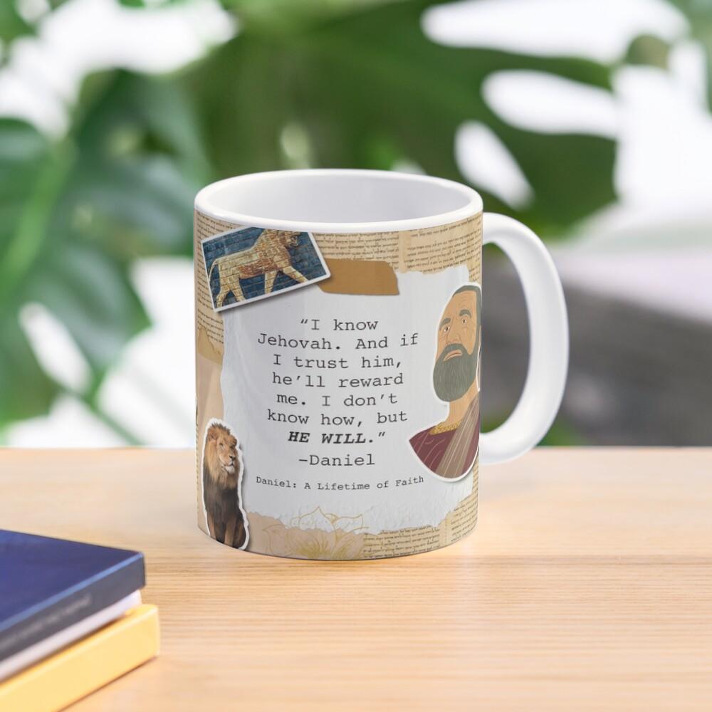Daniel: A Lifetime of Faith Mug
