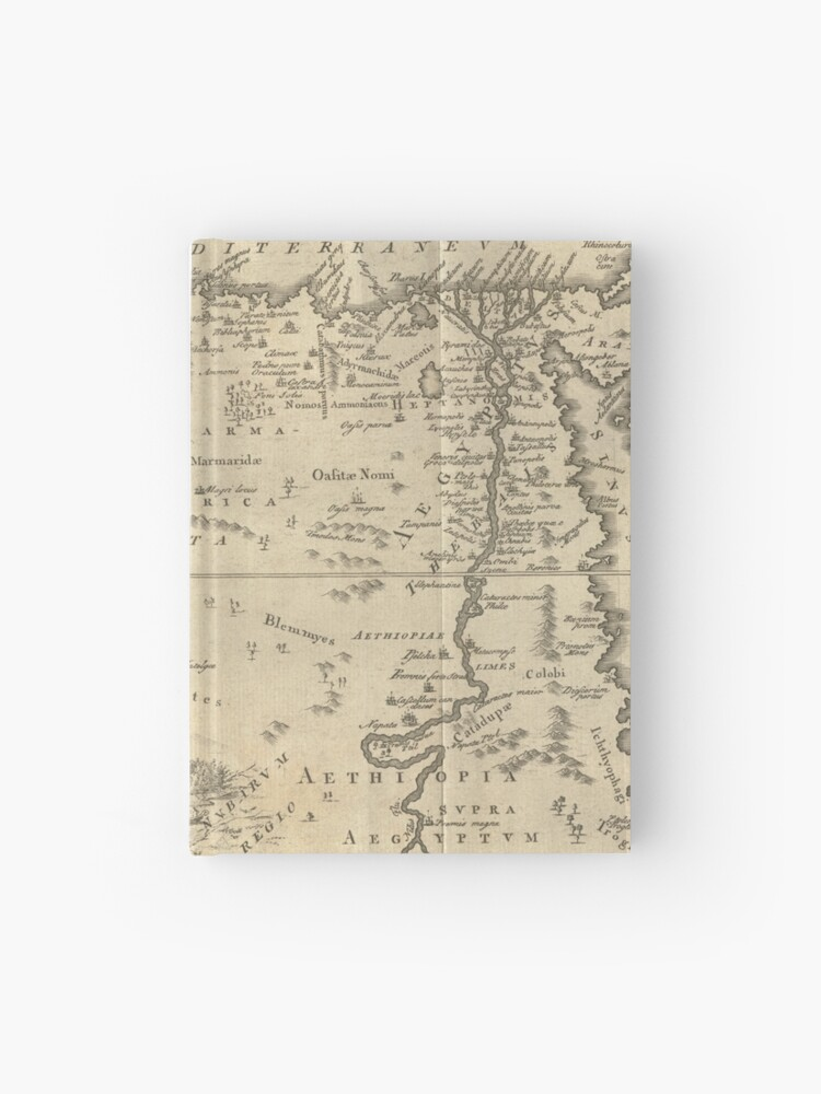 Map of Ancient Egypt | Hardcover Journal