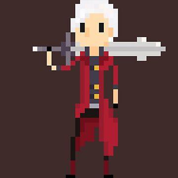 Pixel Dante by Tropelio
