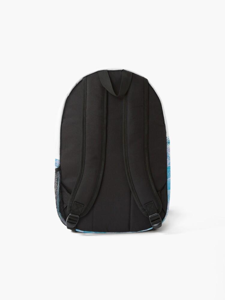 Alternate view of Snowflake crystal Ice  Backpack