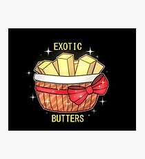 FNAF Exotic Butters Photographic Print