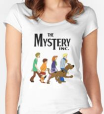 Scooby Doo Abbey Road Women's Fitted Scoop T-Shirt