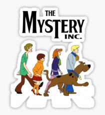 Scooby Doo Abbey Road Sticker