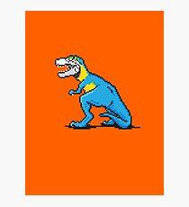 Pixevolution - Tyrannosaurus Macaw  Photographic Print