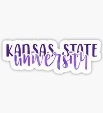 Kansas State University - Style 1 Sticker