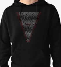 V for Vendetta - Who are you? Pullover Hoodie
