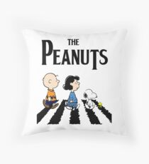 Peanuts Abbey Road Throw Pillow