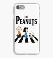 Peanuts Abbey Road iPhone Case/Skin