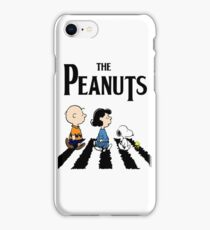 Peanuts Abbey Road iPhone Case/Skin