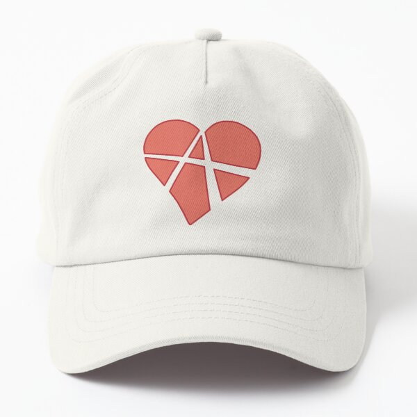 Relationship Anarchy Heart Dad Hat