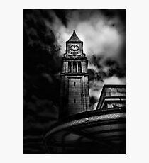 Clock Tower No 10 Scrivener Square Toronto Canada Photographic Print