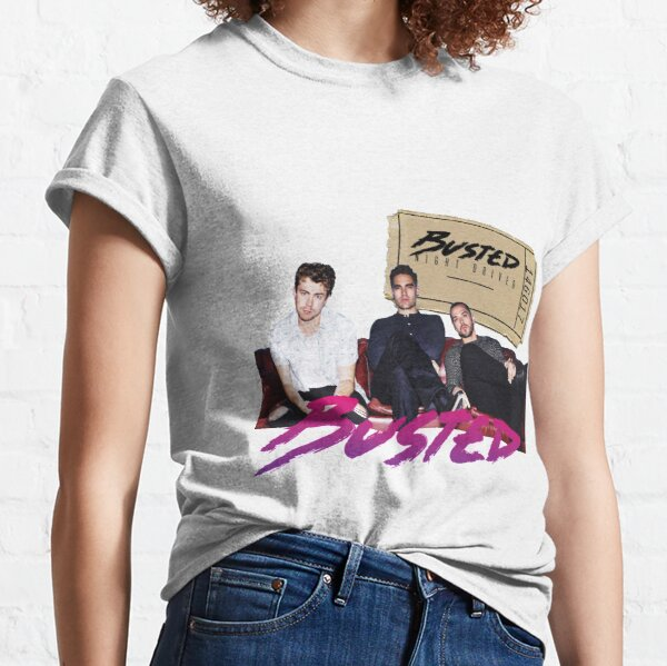 Busted Night Driver Tour Classic T-Shirt