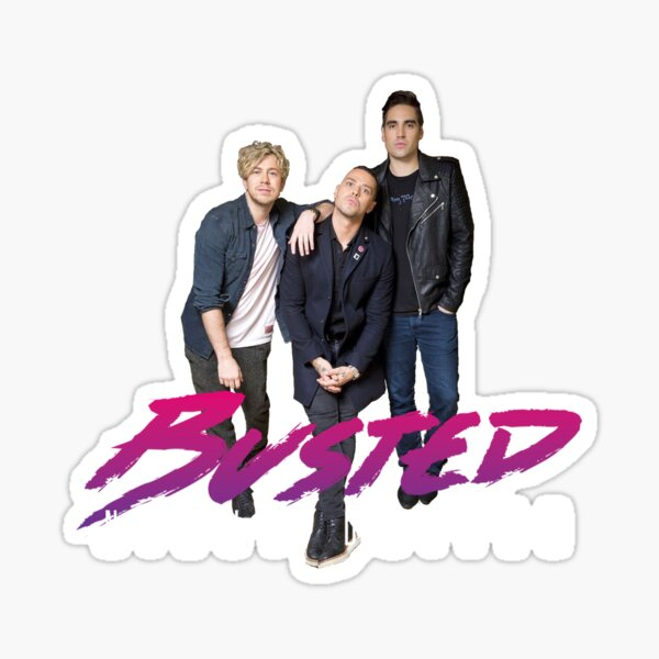 Busted Night Driver Sticker