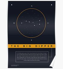 Big Dipper Constellation Poster