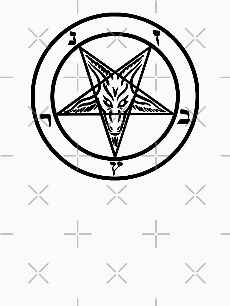 Devil Satan Goat Black Unisex T Shirt By Createdezign Redbubble