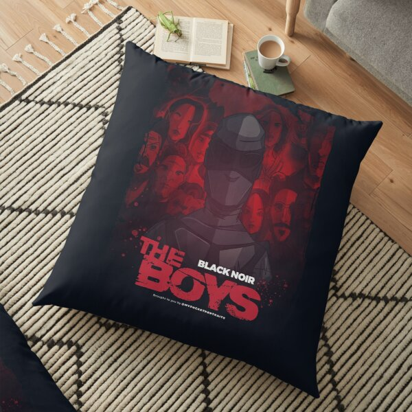 The Boys TV Show - Black Noir Floor Pillow
