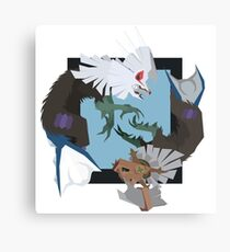 Pokemon Type:null and Silvally Canvas Print
