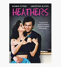 Heathers (1989) Movie Poster Photographic Print