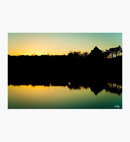 Portmarnock Beach Sunset Photographic Print