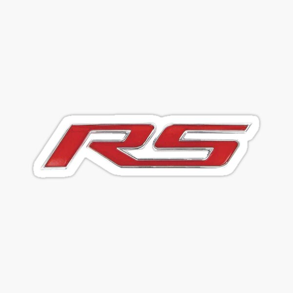 Camaro RS Sticker