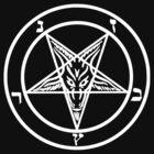 Devil Satan Goat - White by createdezign