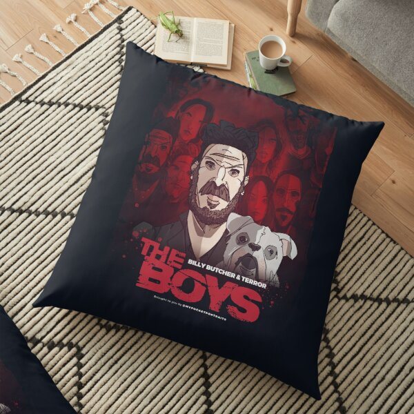 The Boys TV Show - Butcher & Terror Floor Pillow
