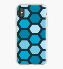 Blue Hexa iPhone Case