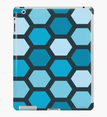 Blue Hexa iPad Case/Skin