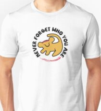 Never Forget Who You Are T-Shirt