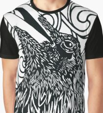 Paper art - The Raven Graphic T-Shirt
