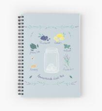 Homemade Iced Tea Spiral Notebook