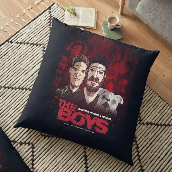 The Boys TV Show - Hughie, Butcher & Terror Floor Pillow