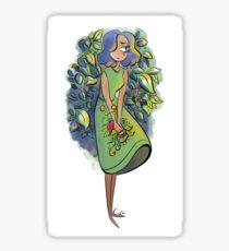 Floral Rush Sticker