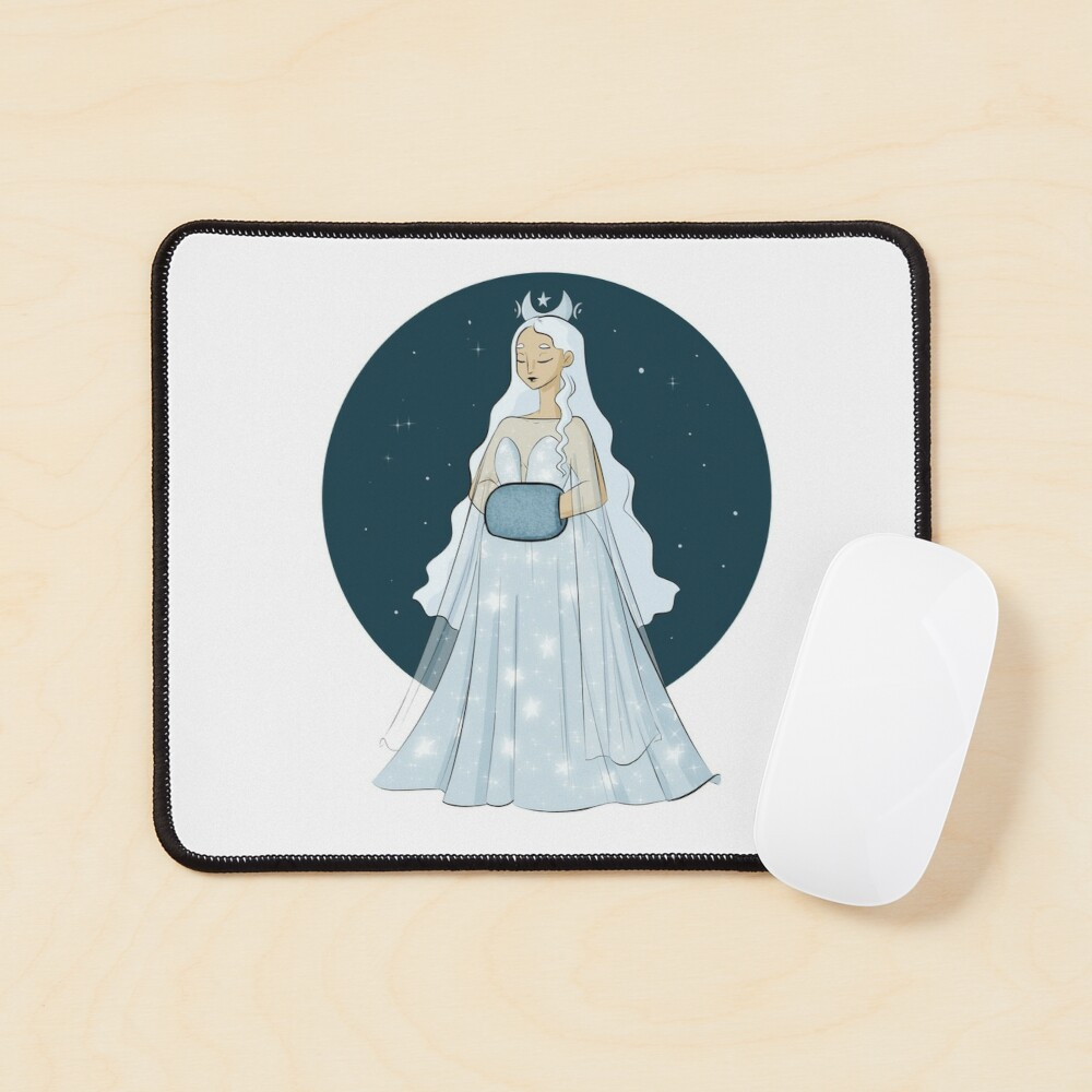 Moon Queen  Mouse Pad