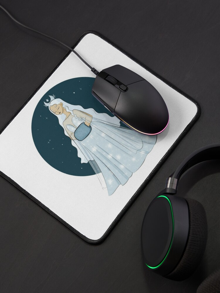Alternate view of Moon Queen  Mouse Pad